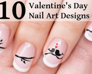 10 Cutest Valentines Day Nail Art Designs 1