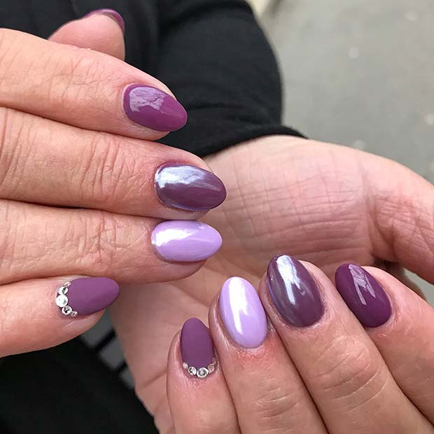 Pretty-Purple-Nails